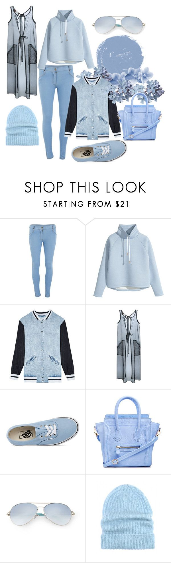 """Pastel♥"" by karimi-star ❤ liked on Polyvore featuring Influence, H&M, Finders Keepers, Jean-Paul Gaultier, Vans, DailyLook, Matthew Williamson and Tak.Ori"