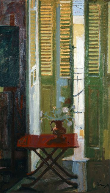 PANAYIOTIS TETSIS  French Door (1961)