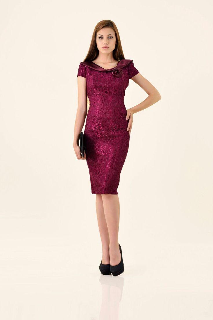 New colors for the elegant dress model. Details on Pr Donna website: http://www.perdonna.ro/gabriela-31096-48.html