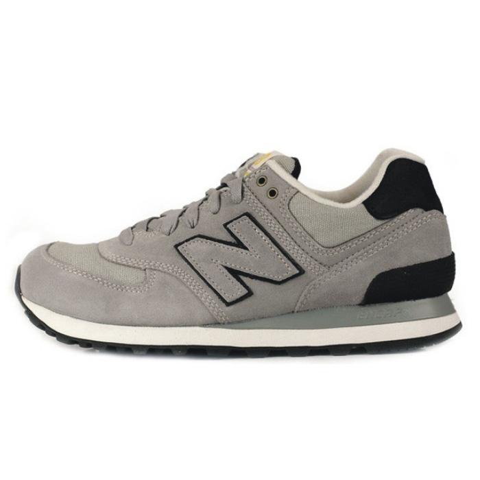 Calzado deportivo 2013 genuinos contra utillaje ligero retro zapatos corrientes de los hombres de gris 574