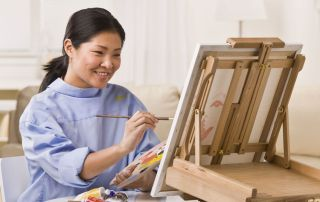 How To Paint Sand | www.drawing-made-easy.com | #paint #sand
