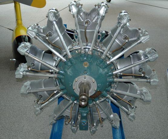 Pratt & Whitney Wasp R-1340 radial engine | Pratt Whitney ...