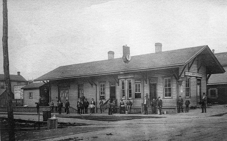 Train depot in Braddock | Rankin/Braddock | Pinterest | Trains