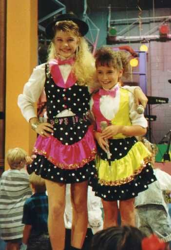 kids incorporated (and yes, that is jennifer love hewitt and Fergie ) I LOVED this show