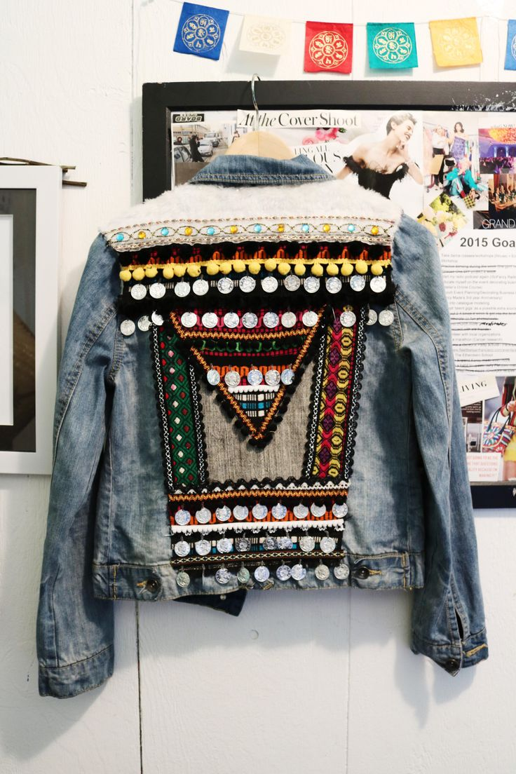 45 best embroidered denim jackets images on pinterest | clothes