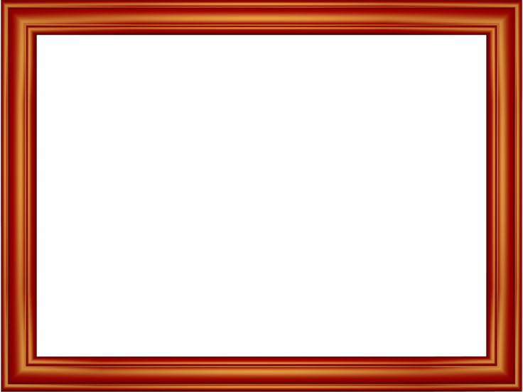 Free Frames and borders png | Red Elegant Embossed Frame Rectangular ...
