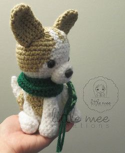 'Lucky', the Chihuahua Dog Amigurumi                                                                                                                                                     More