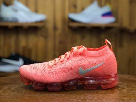 8bee83fe17dd Nike Air VaporMax Flyknit 2. 0 Crimson Pulse Sail Coral Stardust 942843 800  Womens Running Shoes Girls Summer Trainers