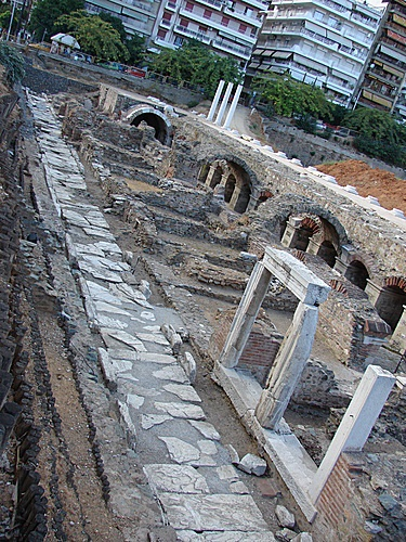 Ancient Greek market, Thessaloniki