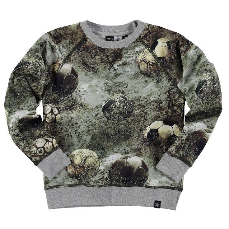 Molo romeo t shirts and tops ls | kleertjes.com #kinderkleding #babykleding #kids #camouflage #boys #sweater #shirt #voetbal