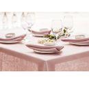 """*Grösse: 350 x 140 cm / 139 x 55""""* Was jeder Haushalt haben muss, ist eine elegante schicke rosane Qualitätstischdecke aus Leinen mit Hohlsaum. Diese rosane Luxus Leinentischdecke ist für den..."""