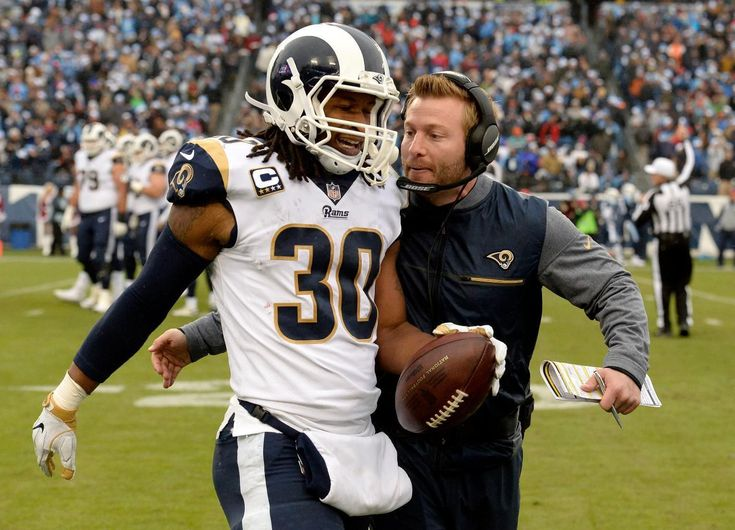 Gurley Helps Rams Clinch NFC West in 27-23 Win Over Titans