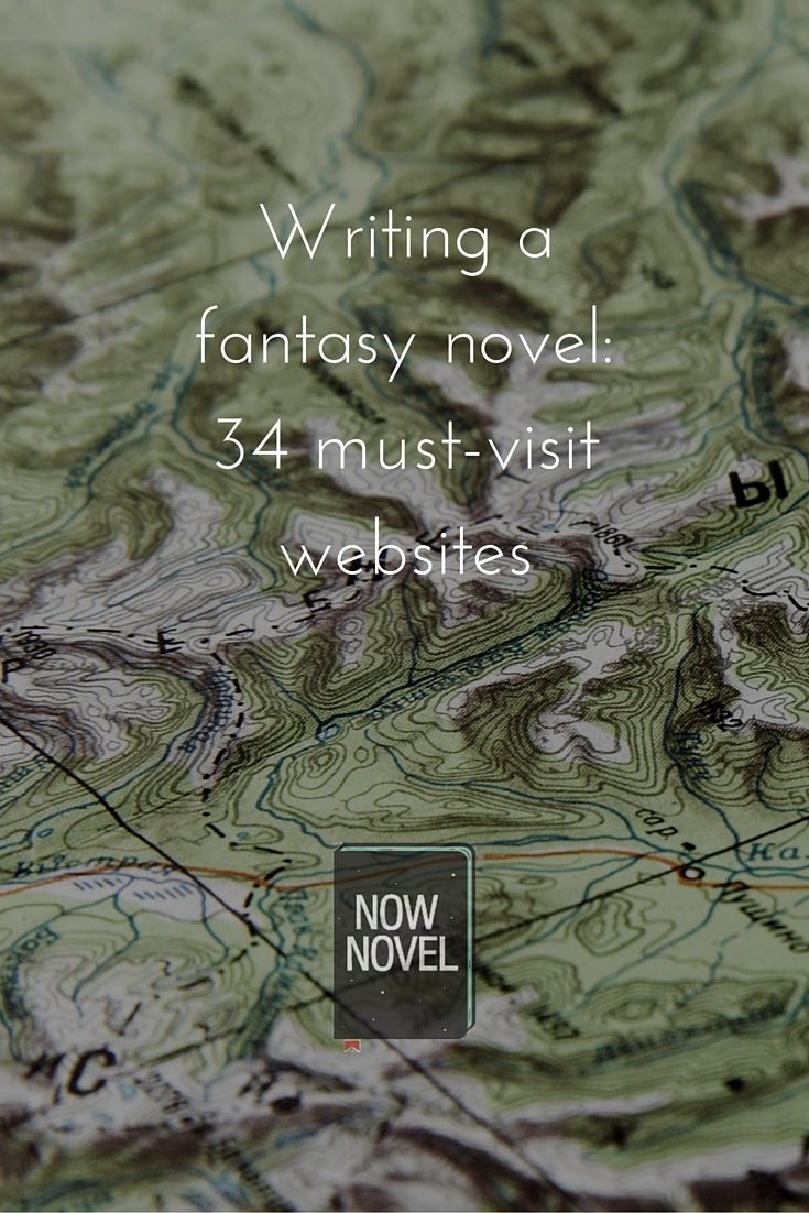 Writing a fantasy novel - 34 must-visit websites