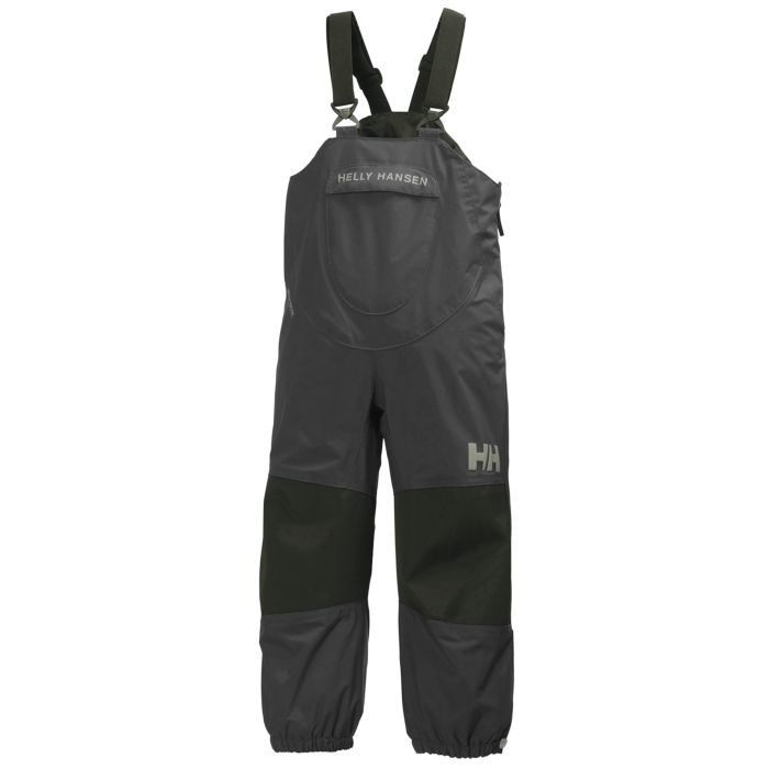 Bib and brace overalls for kids with a classic Helly Hansen design.