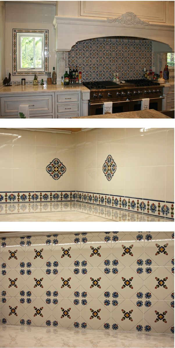 Tiled Kitchen Range Feature Back Splash And Butler S Pantry
