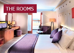 State-of-the-art bedrooms perfect for taking time out.