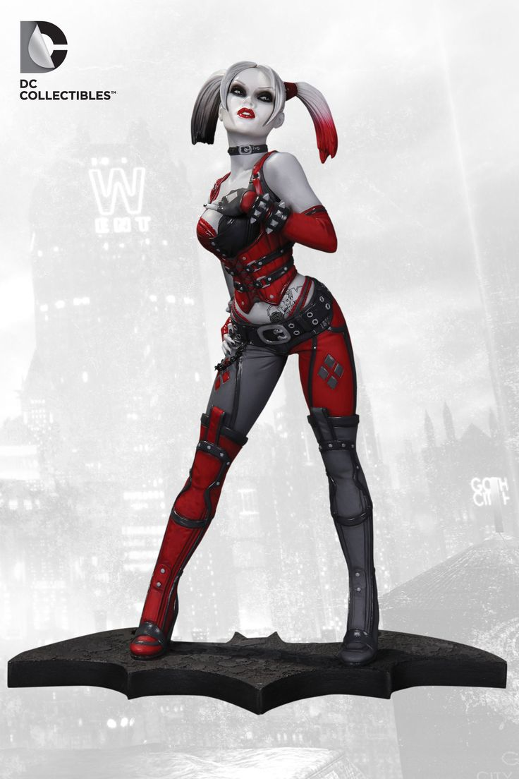 Naomi Kyle Is A Harley Quinn Fan Amp On Her Wish List Is The