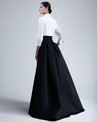 Carolina Herrera Taffeta Gown | Neiman Marcus
