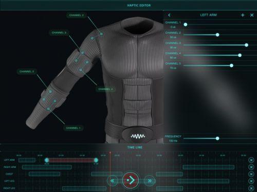 Teslasuit: VR Suit With Haptic Feedback
