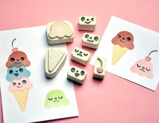 Idea for DIY stamps