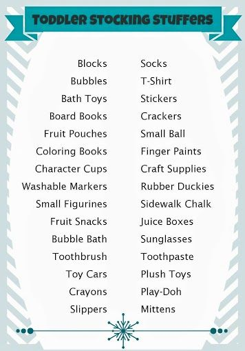 Over 125 stocking stuffer ideas for all ages.