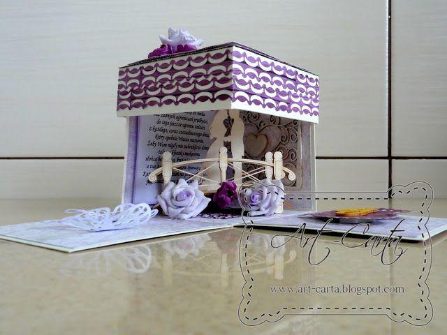 Art-Carta : Fioletowy ślub