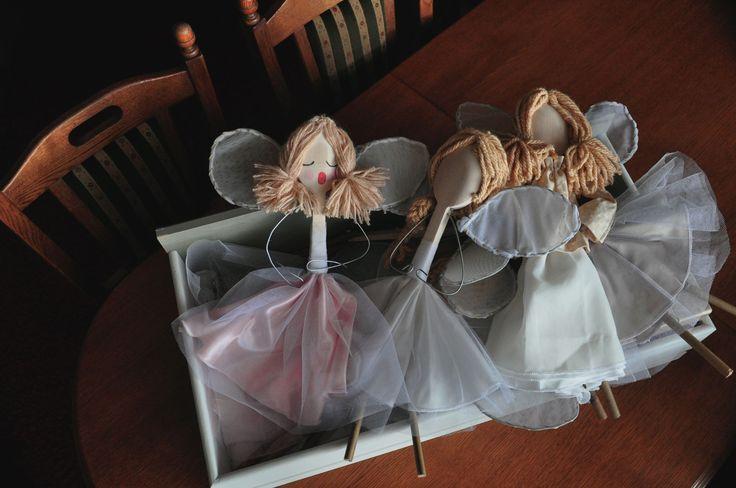 Aniołki w przygotowaniu. kasiabloguje.wordpress.com