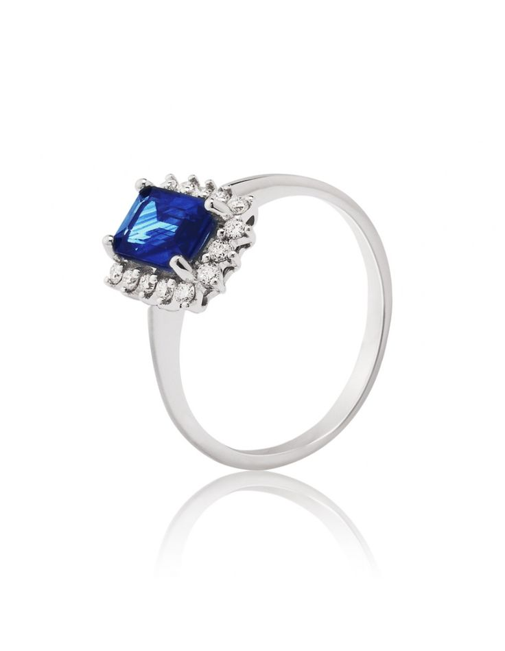 Anillos de compromiso: Blue Princess