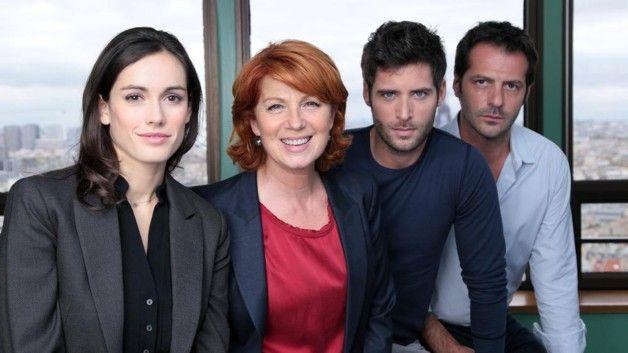 """Julie Lescaut, epizóda """"Cougar"""" - Jean-Charles Chagachbanian Veronique Genest, Leslie a William Gabriel Coutterand"""