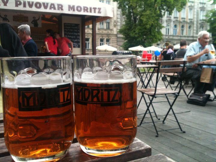 Moritz - Hostinský pivovar ve městě Olomouc