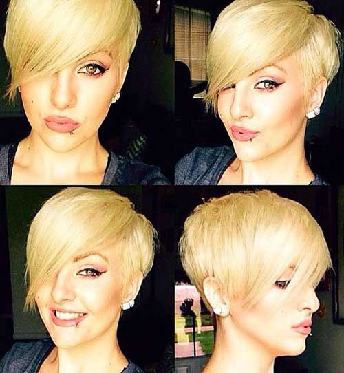 Amazing short modern haircuts