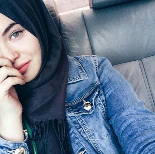 hijab, girl, and islam Bild