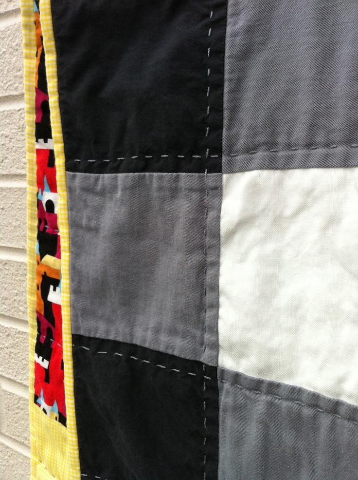 Gingham quilt (some tips)