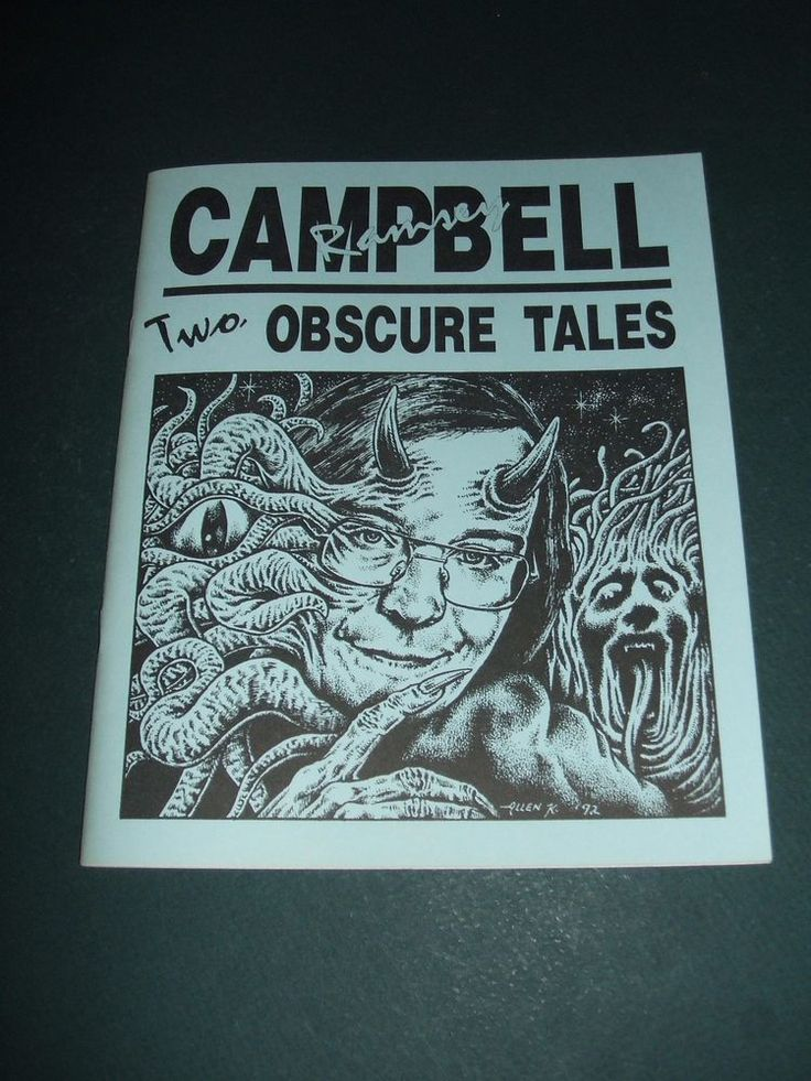 Two Obscure Tales by Ramsey Campbell 1993 1st Necronomicon Press Vintage Horror 940884534 | eBay