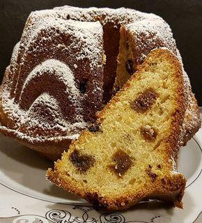 Incirli Üzümlü Tarçınlı Kek