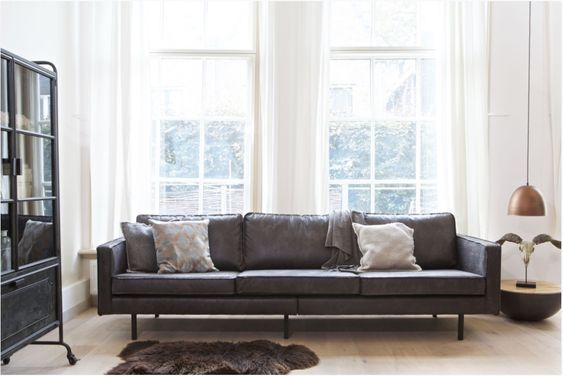 4 Zits Bank Trendhopper.3 Zits Be Pure Home Rodeo Classic Zwart In 2019 Couch