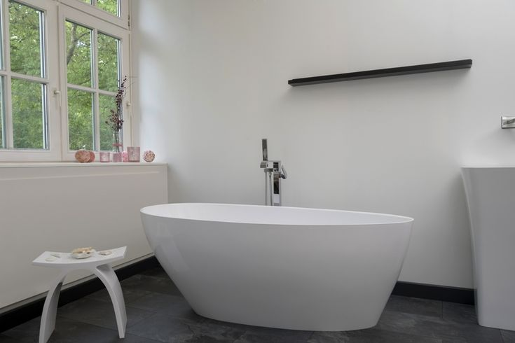 Modena-Piccolo Bathtub | Decide now for a real stone cast bathtub at discounted price.  Original stone cast designer bathtubs produced in Europe with a special discount; th... view details on www.treniq.com