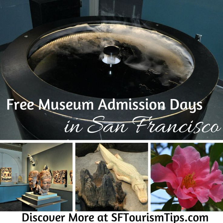 Visit San Francisco's museums for free each month. Find a full calendar here: http://www.sftourismtips.com/museums-san-francisco.html  #sanfrancisco #freemuseums
