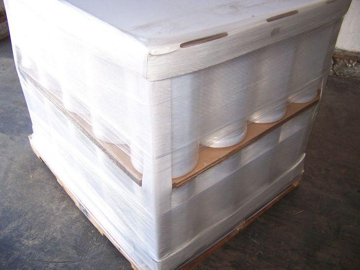 "Machine Pallet Wrap Stretch Film 20"" x 80ga x 5000' (40 Roll / PL) FREE Shipping"