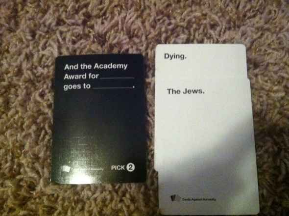 Cards Against Humanity Combination #2