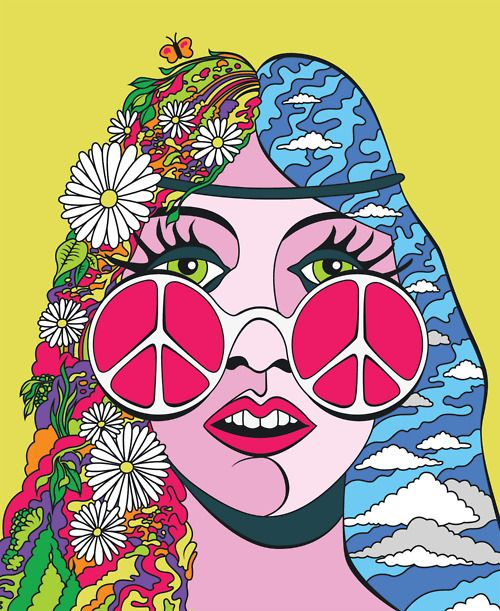 Probably just going to be a hippy for Halloween 'cause I haven't been inspired yet...