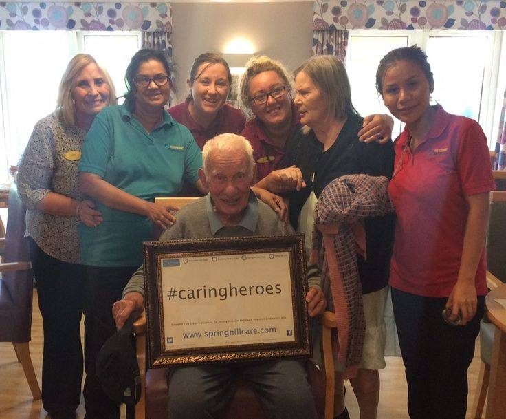 October's Caring Heroes revealed - Springhill Care Group Lancashire