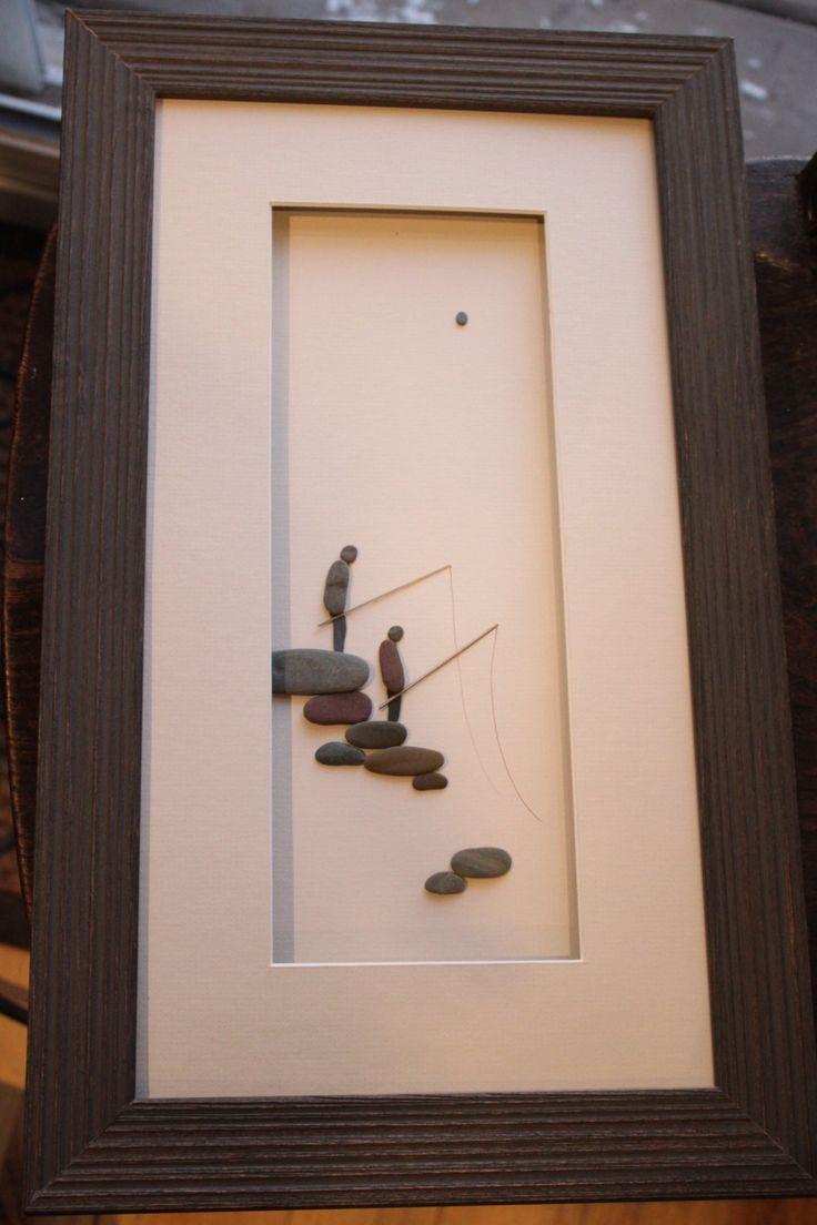 Art de la NouvelleÉcosse par Sharon Nowlan de galets par PebbleArt, $149,00