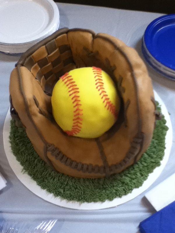Bake me a softball cake for my birthday! by antonia
