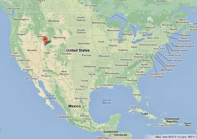 CC GEO Wk Great Salt Lake On US Map To Teach CC Geography - Us map great lakes