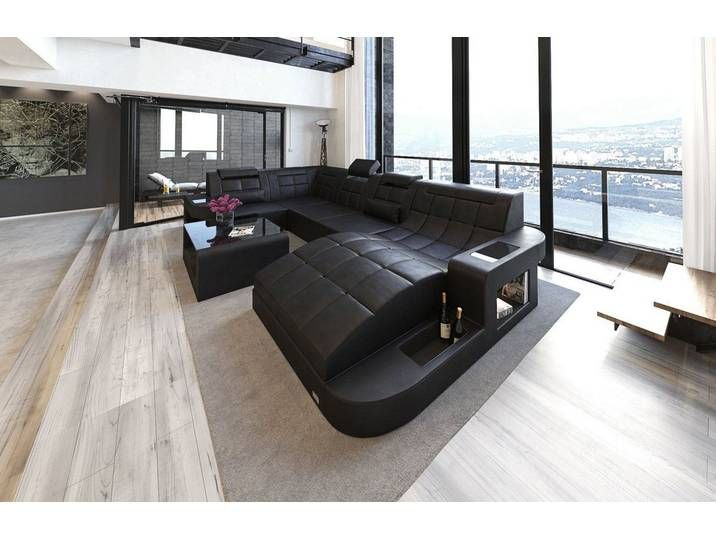 Sofa Dreams Wohnlandschaft Wave U Form Schwarz Ohne Bettfunktion Furniture Home Sofa