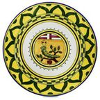 PALIO Coll.: 'Nicchio' W/Plate 14''D. - Mediterranean - Chargers - by Artistica Italian Gallery
