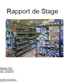 Telecharger Rapport De Stage Piece De Rechange