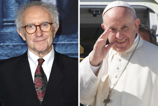 Jonathan Pryce To Play Pope Francis In Netflixs The Pope; Anthony Hopkins Is Pope Benedict
