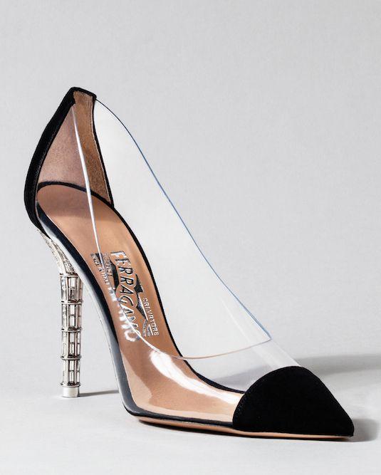 Salvatore Ferragamo : The Designer Cinderella-Inspired Glass Slippers Have Been Revealed